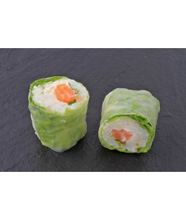 Spring Roll Saumon / Cheese (X8)